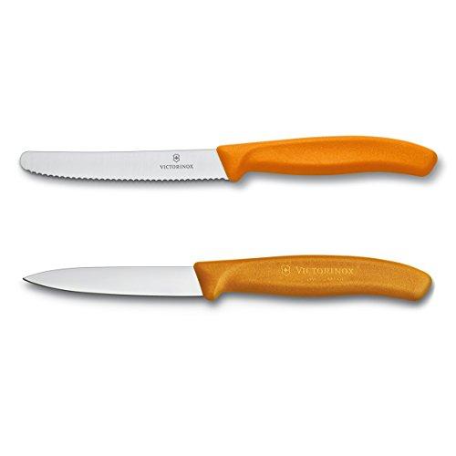 Victorinox VIC-6.7836.7606.9US1 Swiss Classic - Juego de almohadas (41 1/2 pulgadas) utilitario y 31 1/2 pulgadas, color naranja
