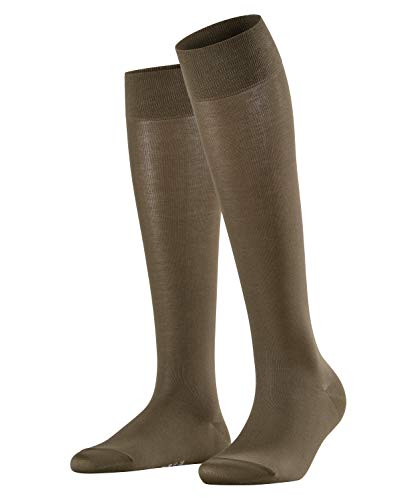 FALKE Damen Cotton Touch W KH Socken, Grün (Military 7826), 39-42
