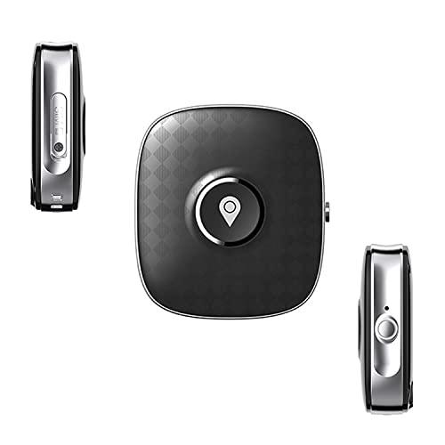 Rastreador GPS Personal,Rastreador GPS Geo Fence para Anciano, Niño,Localizador Impermeable Antipérdida con Botón SOS Y Comunicación De Voz Bidireccional