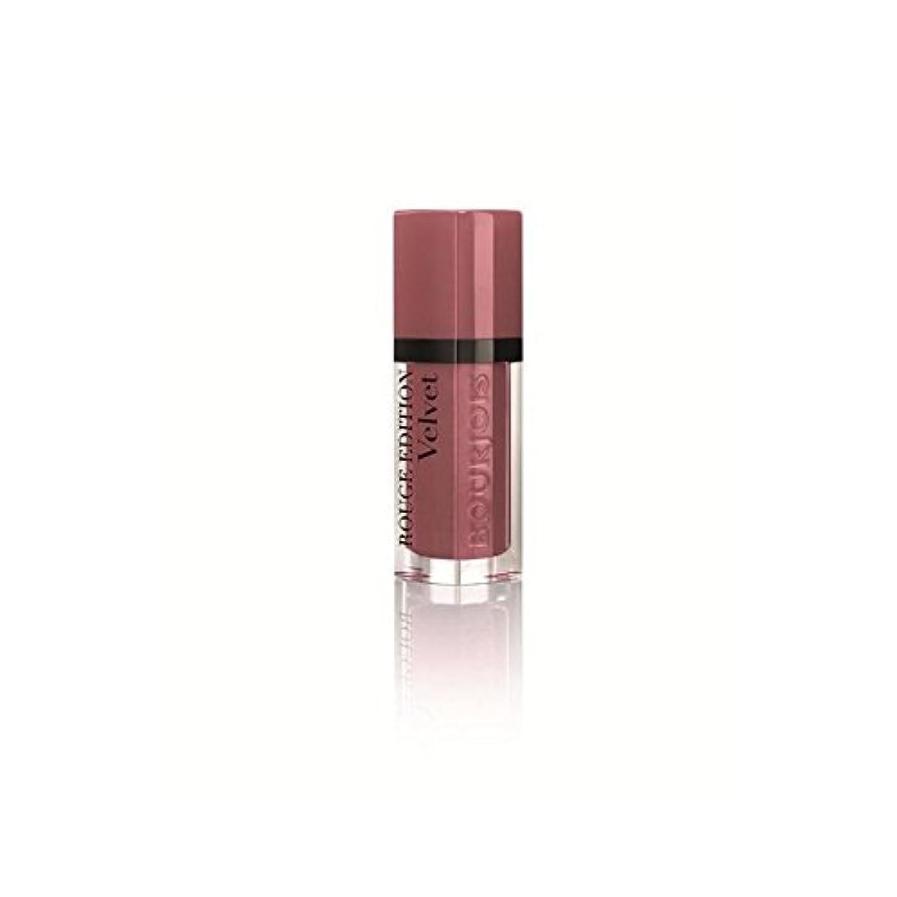 切り刻む晩餐フェッチルージュ口紅、ベルベットヌード-Ist T07の6ミリリットル (Bourjois) (x 4) - Bourjois Rouge Lipstick, Velvet Nude-ist T07 6ml (Pack of 4) [並行輸入品]