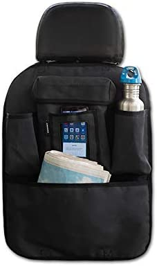 Armoro Car Back Seat Multi Pocket Storage Organizer Holder (Black)