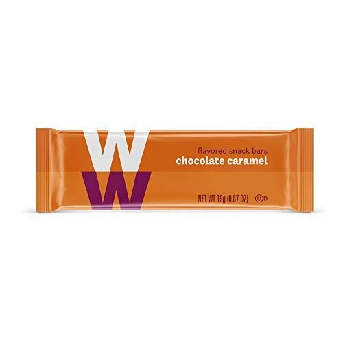WW Chocolate Caramel Mini Bar - Kosher - 2 SmartPoints - 1 Box (24 Count Total) - Weight Watchers Reimagined