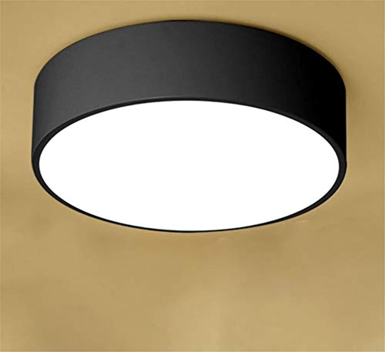 Dekoration Moderne Deckenleuchteamerican-Style European-Style Round Ceiling Lamp Living Room Led Bedroom Simple Modern Hall Living Room Lamp Creative Bedroom Lamps 30Cm