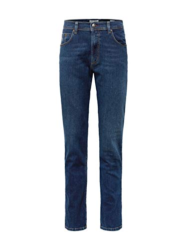 Bugatti Herren 3280D-16640 Loose Fit Jeans, Blau (Stone Washed 343), W44/L32