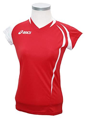 ASICS Camiseta T/S Funny Lady Red-White Women 's Correr Cod. t751z1.2601 Rojo...