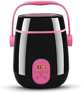 SHAAO 1.2L Household Mini Rice Cooker ntelligent Portable Heating Bento Box Stainless Steel Steamer Kitchen Utensils