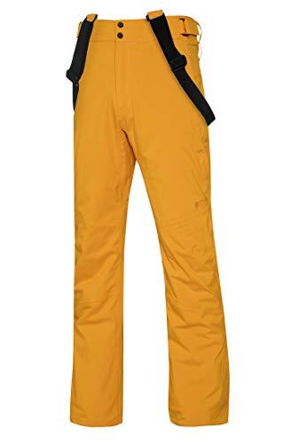 Protest Miikka 19 - Pantaloni da Sci/Snowboard, da Uomo, Uomo, 4710292, Giallo Scuro, S