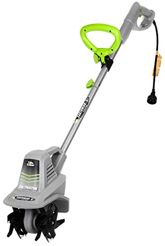 Lowest Prices! Earthwise TC70001 Electric Corded Tiller, 11-Inch, 8.5-Amp, Grey (Renewed)