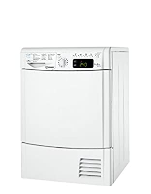 Indesit idpe G45 A1 Eco (It) Freestanding Front-Load 8 kg A + White – Tumble Dryer (Freestanding, Front Loading, Condensation, A +, White, Buttons, Rotary)