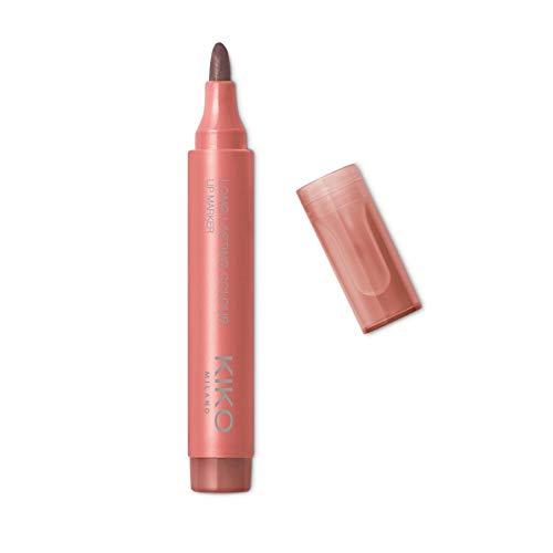 KIKO Milano Long Lasting Colour Lip Marker 109   Lippenstift No-Transfer, Natürlicher Tattoo-Effekt Und Extrem Langer Halt (10 Stunden)