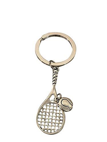 Tennis Keychain, Tennis Racquet Jewelry- Perfect T...