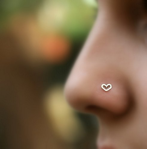 Nose Ring Stud Infinity Nose Stud Nose Piercing Nose Piercing Tragus Earring Cartilage Earring Sterling Silver Nose Jewelry
