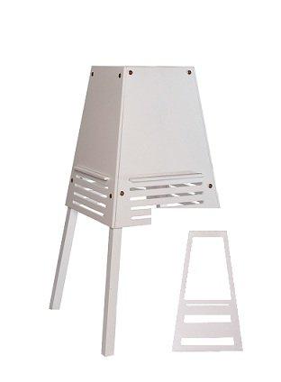kidztower Lernturm/Learningtower Set (weiß)