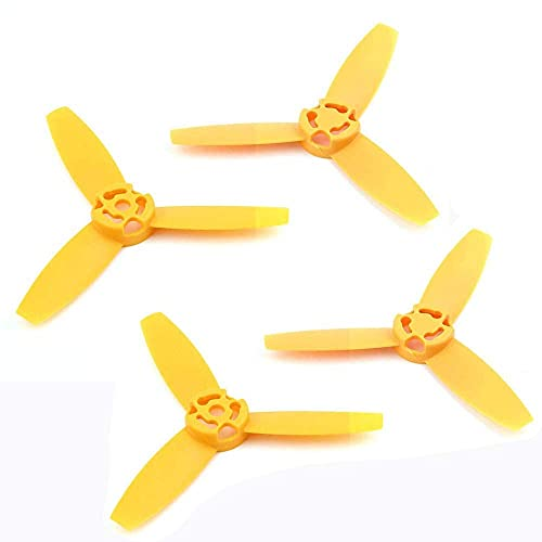 MZWNQ Accessori per Parti di droni 4PCS Eliche Lame Principali Rotori Puntelli Red Colorful Clover Paddle per Parrot Bebop Drone 3.0 (Color : 4PCS Black) ( Color : 4pcs Yellow )
