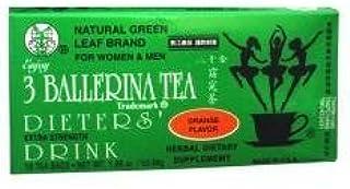 BALLERINA TEA DIETERS DRINK EXTRA STRENGH CINNAMON FLAVOR (3 boxes)