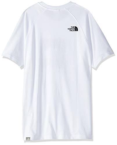 The North Face Rag Red Box T-Shirt White
