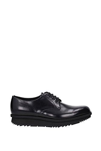 prada scarpe uomo Prada Derby Uomo - (2EE092NERO) 41 EU