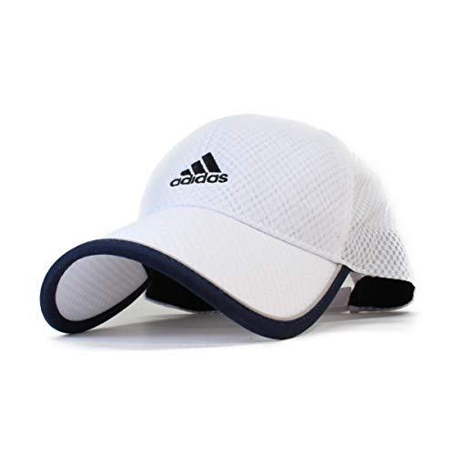 adidas アディダス キャップ メンズ レディース 大きいサイズ ビッグサイズ 帽子 LITE メッシュキャップ GOLF ゴルフ ローキャップ ブランド 人気 トレンド 父の日 贈り物 プレゼント メンズ (ホワイト)