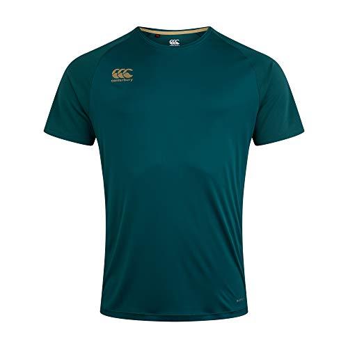 Canterbury Camiseta Vapodri Superlight Solid para Hombre, Hombre, Camiseta, QA004261, Atlantic Deep, XXL