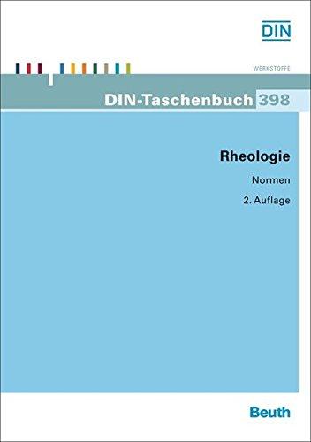 Rheologie (DIN-Taschenbuch)