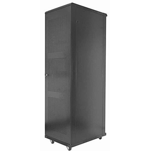 Armario rack 19' de pie 20U 600x600x1000mm negro MobiRack de RackMatic