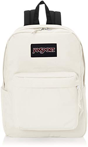 JanSport SuperBreak Plus Laptop Backpack - Lightweight School Pack, Soft Tan