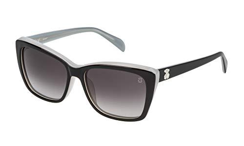 TOUS STO954S-5506P3 Gafas, Gris, 55/16/140 Para Mujer