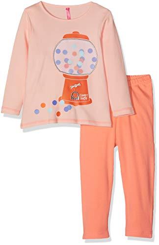 Lina Pink BF.Candy.plk Pijama, Beige (Nude/Corail Nude/Corail), 8 años (Talla del Fabricante: 08 Y) para Bebés