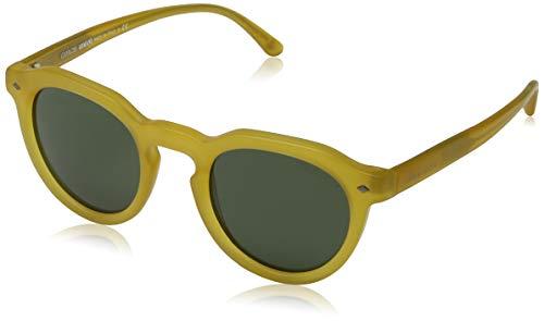 Giorgio Armani Herren 0ar8093 Sonnenbrille, Matte Honey/Green, 47