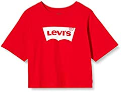 Levi's kids Lvg Light Bright Cropped Top Camiseta para Niñas