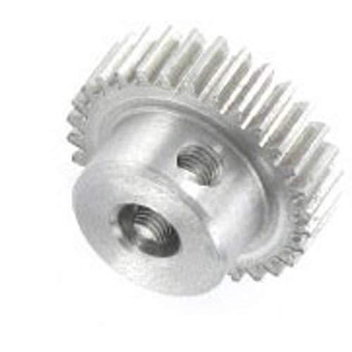 22 Zähne Bohrung Ø4 Modul 0.5 Zahnrad Stirnrad KS aus Kunststoff Polyacetal