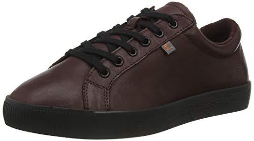 Softinos Damen SURY585SOF Sneaker, Wine, 38 EU