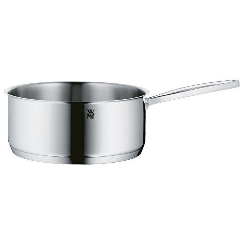 WMF Gala Plus Stielkasserolle, 16 cm, ohne Deckel, Kopftopf 1,4l, Cromargan Edelstahl poliert, Topf Induktion, unbeschichtet