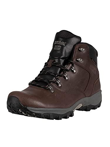 Regatta Bainsford, Mens High Rise Hiking Boots, Brown (Peat), 10 (45 EU)