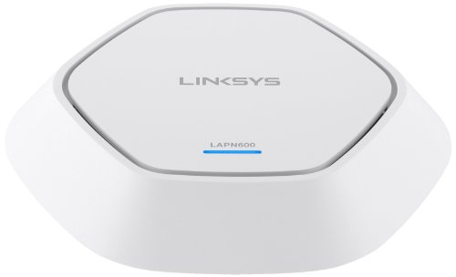 Linksys LAPN-600-EU N600 Access Point (600 Mbit/s, PoE, MIMO 2x2, Dual Band) weiss