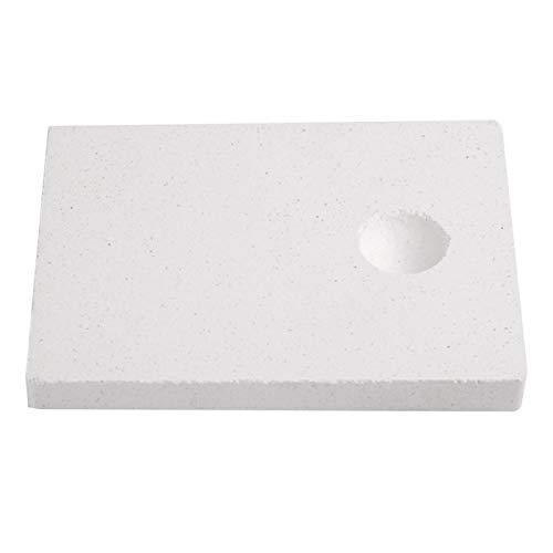 Lsaardth Soudage de Brique réfractaire - Outil de Fabrication de Bijoux Brique réfractaire Isolante pour la Fusion de Bijoux de Soudure Thermique