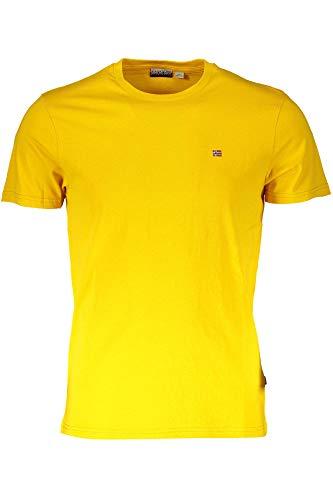 NAPAPIJRI Selios 2 T-Shirt, Giallo (Mango Yellow Y171), XXX-Large Uomo