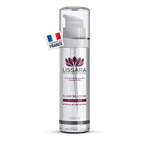 Serum Elixir Sans Sulfates - Après Lissage pour Cheveux secs et abimés - À l'huile d'Argan - Sans Paraben - Fabriqué en France - 100ml