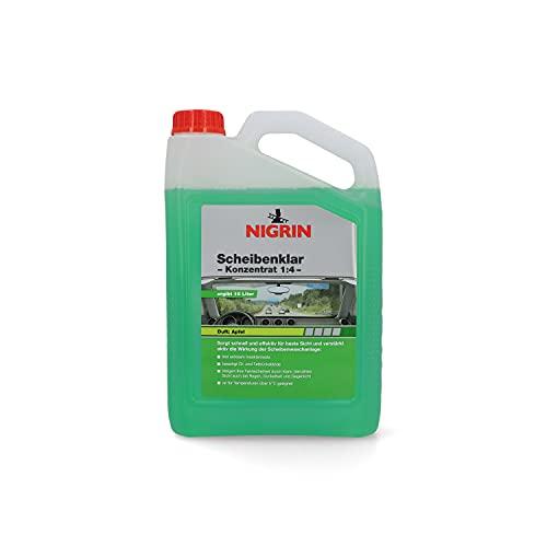 NIGRIN 73136 Scheibenklar Konzentrat Apfel 1:4 (15L) 3.000 ml