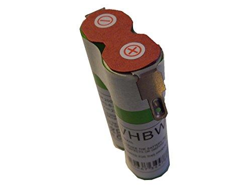 vhbw Akku passen für Gardena Accu 80 Rasenkantenschere & Strauchschere, Wolf-Garten Neo & Accu 80 Akkuschere ersetzt Accu80 - (Li-Ion, 2200mAh, 7.2V)