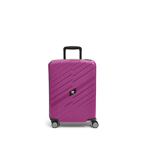 Gabol - Sendai | Hard Cabin Suitcase 39 x 55 x 20 cm with Capacity 32 litres Fuchsia Pink