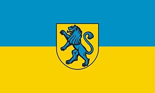 Unbekannt magFlags Tisch-Fahne/Tisch-Flagge: Salach 15x25cm inkl. Tisch-Ständer