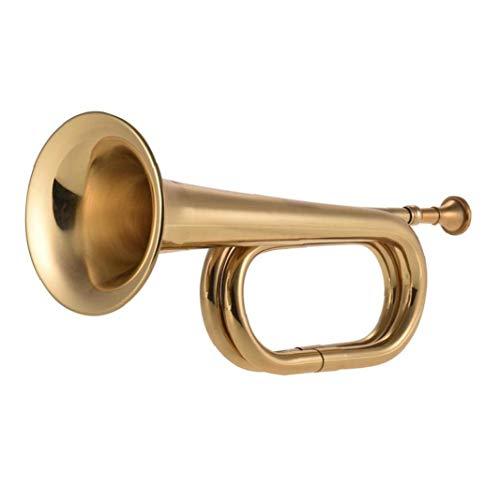 Lankater B Flat Bugle Blechbläser Trompete Kavallerie Drum-Instrument Mundstück Für Schulband