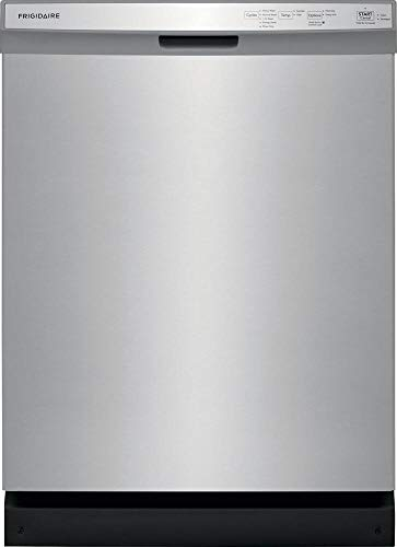 Frigidaire FFCD2418US 24 Inch Built In Dishwasher with 5 Wash Cycles, 14 Place Settings, Hard Food Disposer, Quick Wash, NSF Certified, Energy Star Certified (Stainless Steel)