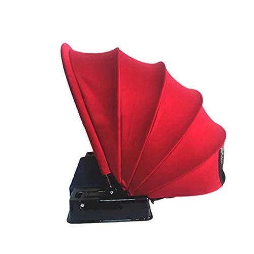 Lvguang Tienda de Playa Pop-Up para 1 Persona Plegable Tienda Sun Shelter Sombrilla Anti-Ultravioleta Radiación Mini Parasoles (Rojo, 48 * 51 * 48cm)