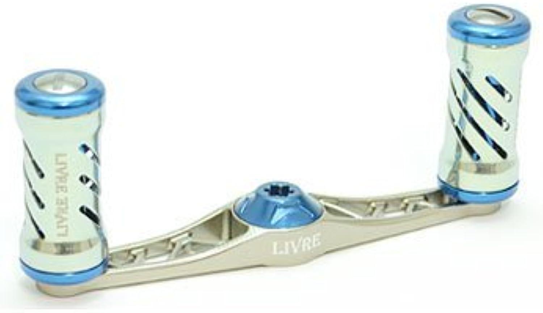 Livre (Libre) Reel for Flat TypeF85 Seihakou 60SP (Titanium P + blueee G)