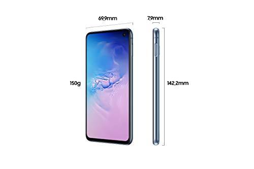 Samsung Galaxy S10e Smartphone Bundle (14.7cm (5.8 Zoll) 128 GB interner Speicher, 6 GB RAM, Dual SIM, Android, prism blue) inkl. 36 Monate Herstellergarantie [Exklusiv bei Amazon]   Deutsche Version