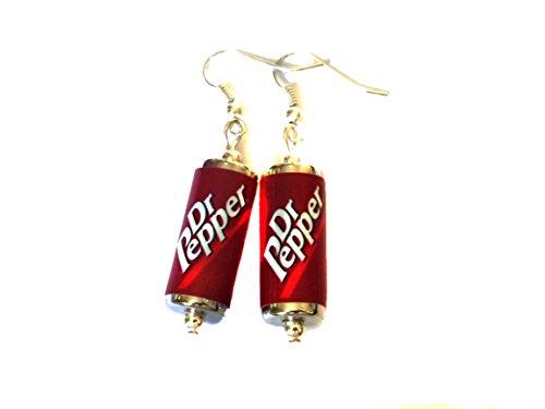 Dr Pepper kann Ohrringe
