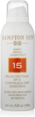 Hampton Sun SPF 15 Continuous Mist Sunscreen 5 oz product image