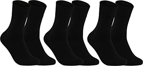 RS. Harmony Socken & Strümpfe für Damen   ohne Gummidruck   3 Paar   schwarz   35-38